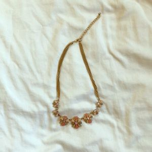 Jewelry - Floral Statement Necklace